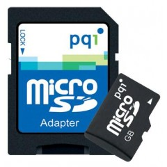 Pqi  micro sd 8gb+1 adapter